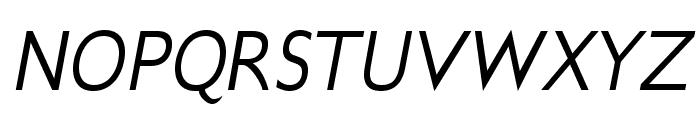 GilliusADFNo2-Italic Font UPPERCASE