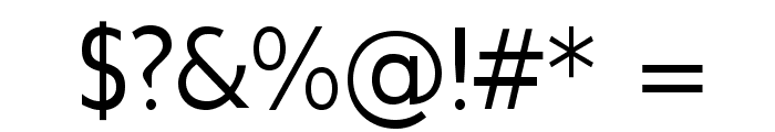 GilliusADFNo2-Regular Font OTHER CHARS