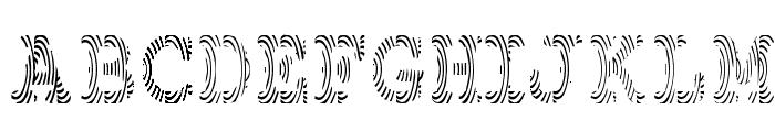 Gimcracks Font UPPERCASE