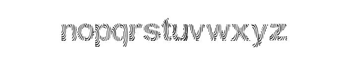 Gimcracks Font LOWERCASE