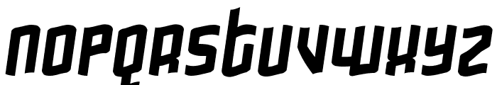 Gimmicky Font LOWERCASE