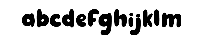 Ginger Biscuit - Personal Use Font LOWERCASE