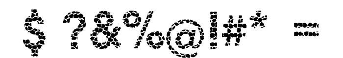 Ginger Snake Font OTHER CHARS