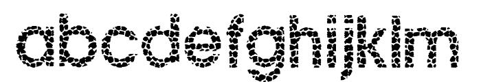 Ginger Snake Font LOWERCASE