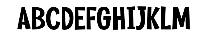 Ginger Soda Font UPPERCASE