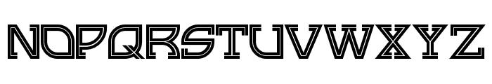 GingerPeachy Font UPPERCASE