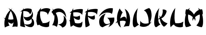 Ginko Font UPPERCASE