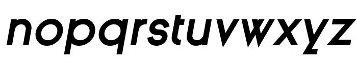 Ginora Sans Bold Oblique Font LOWERCASE