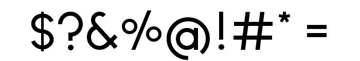 Ginora Sans Regular Font OTHER CHARS