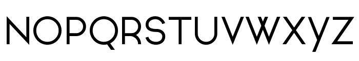 Ginora Sans Regular Font UPPERCASE