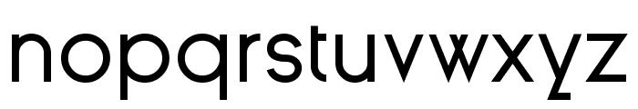 Ginora Sans Regular Font LOWERCASE