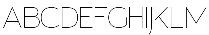 Giorgio Thin Font UPPERCASE