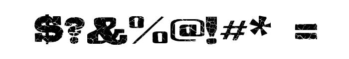 Gipsiero-Kracxed Font OTHER CHARS