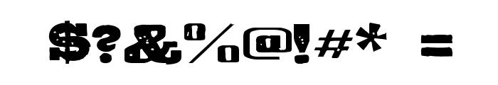 GipsieroRegular Font OTHER CHARS