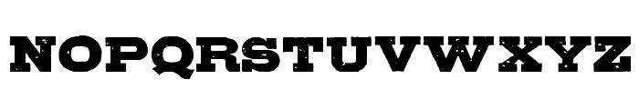 GipsieroRegular Font UPPERCASE