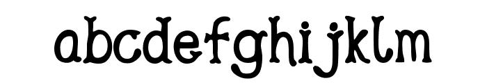 Gipsy Bar Font LOWERCASE