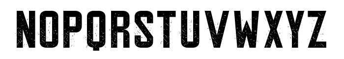 Gipsy Danger Personal Use Grunge Font UPPERCASE