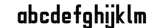 Gipsy Danger Personal Use Grunge Font LOWERCASE