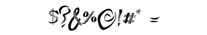 Giraffe & Co. Font OTHER CHARS