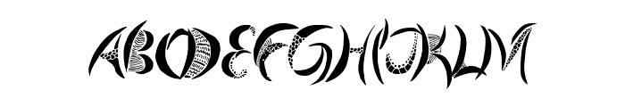 Giraffe & Co. Font UPPERCASE