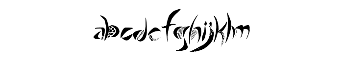 Giraffe & Co. Font LOWERCASE