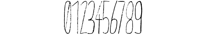 Giraffenhals-Condensed Font OTHER CHARS