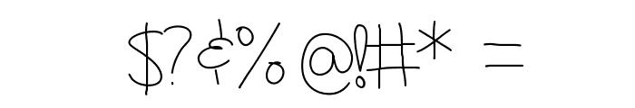 GirlNextDoor Font OTHER CHARS