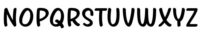 Girls Marks Font UPPERCASE