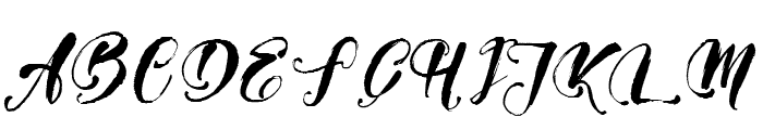 Girly Things Demo Version Font UPPERCASE