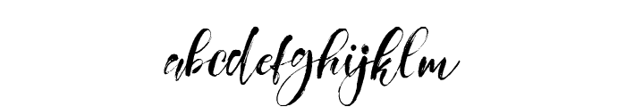 Girly Things Demo Version Font LOWERCASE