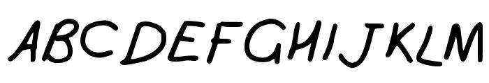 Girly_handwriting Font UPPERCASE