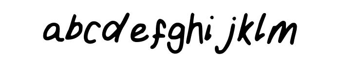 Girly_handwriting Font LOWERCASE