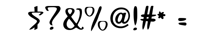 Gismonda FG Font OTHER CHARS