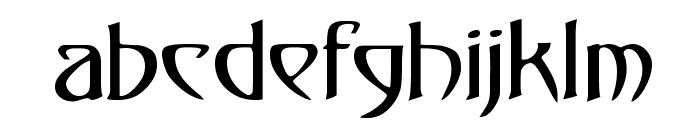 Gismonda FG Font LOWERCASE