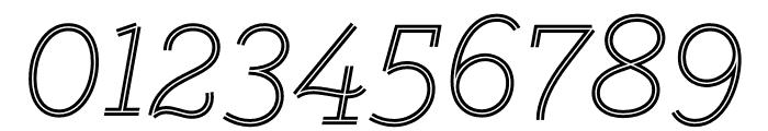 GistLight Font OTHER CHARS
