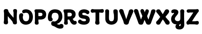 Giulia DEMO Bold Font UPPERCASE