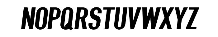 Give A Hoot Black Oblique Font UPPERCASE