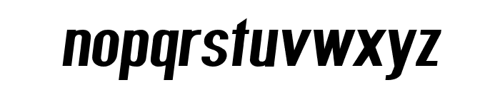 Give A Hoot ExtraBold Extended Oblique Font LOWERCASE