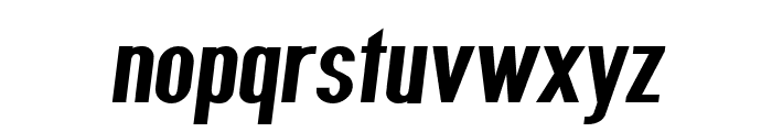 Give A Hoot ExtraBold Oblique Font LOWERCASE