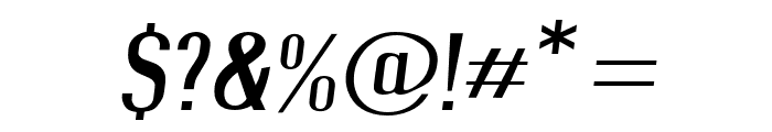 Give A Hoot Light Extended Oblique Font OTHER CHARS
