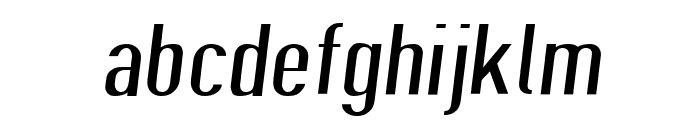 Give A Hoot Light Extended Oblique Font LOWERCASE