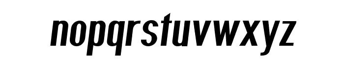 Give A Hoot Semibold Oblique Font LOWERCASE