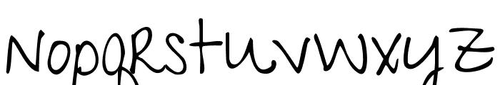 GiveYouGlory Font LOWERCASE