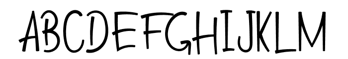 Giving Love Font UPPERCASE