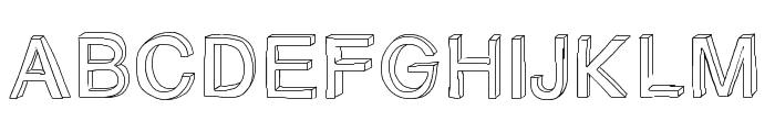 GizemsSketchFree Font UPPERCASE