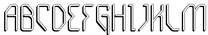 Gizmo - Shade Font UPPERCASE