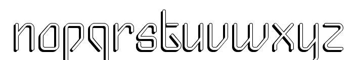 Gizmo - Shade Font LOWERCASE