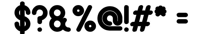 gitchgitch Bold Font OTHER CHARS