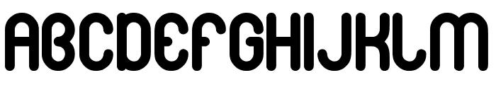gitchgitch Bold Font UPPERCASE