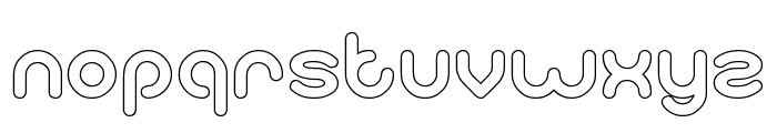 gitchgitch-Hollow Font LOWERCASE